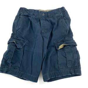 Abercrombie & Fitch Blue Cargo Shorts